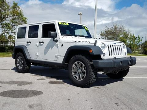 2014 Jeep Wrangler Unlimited for sale in Fort Pierce, FL