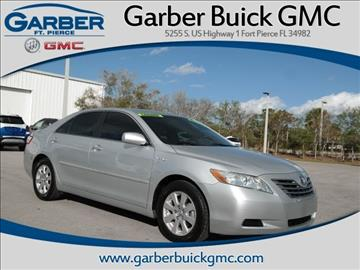 2007 Toyota Camry Hybrid for sale in Fort Pierce, FL