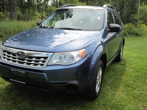 2012 Subaru Forester for sale in Merrill, NY
