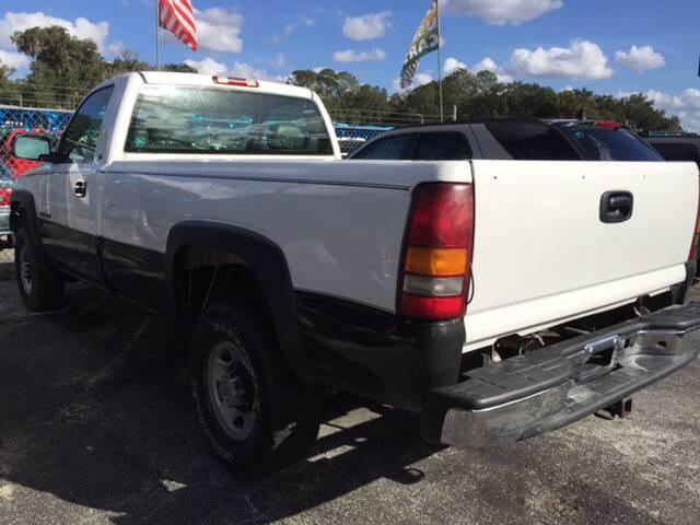 2001 Chevrolet Silverado 2500HD for sale at Midstate Finance in Ocala FL