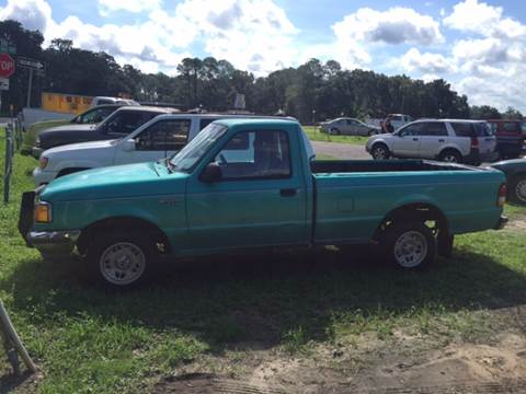 1993 Ford Ranger for sale at Midstate Finance in Ocala FL