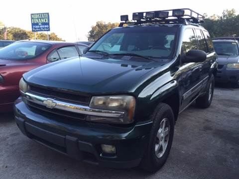 2002 Chevrolet TrailBlazer for sale at Midstate Finance in Ocala FL