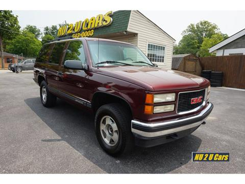 1995 GMC Yukon for sale in Chattanooga, TN