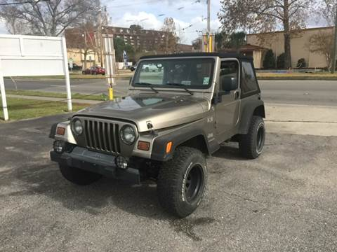 2006 Jeep Wrangler for sale in Metairie, LA