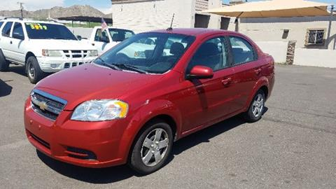 2010 Chevrolet Aveo for sale at Buy Rite Cars in Phoenix AZ
