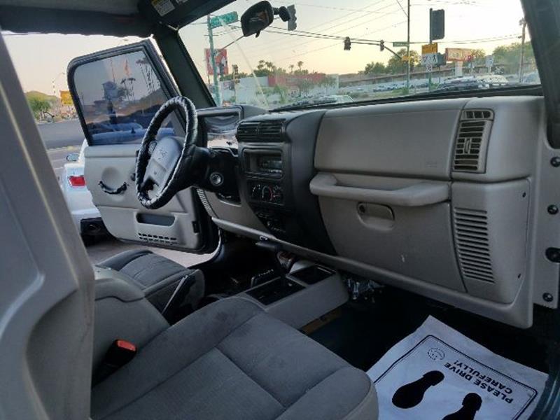 2004 Jeep Wrangler for sale at Buy Rite Cars in Phoenix AZ