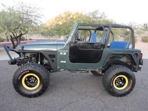 2002 Jeep Wrangler for sale in Phoenix, AZ
