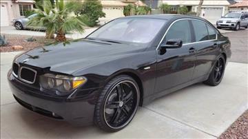 2004 BMW 7 Series for sale in Phoenix, AZ