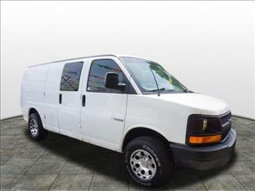 2003 Chevrolet Express Cargo for sale at Tyme Auto Sales in Plymouth MI