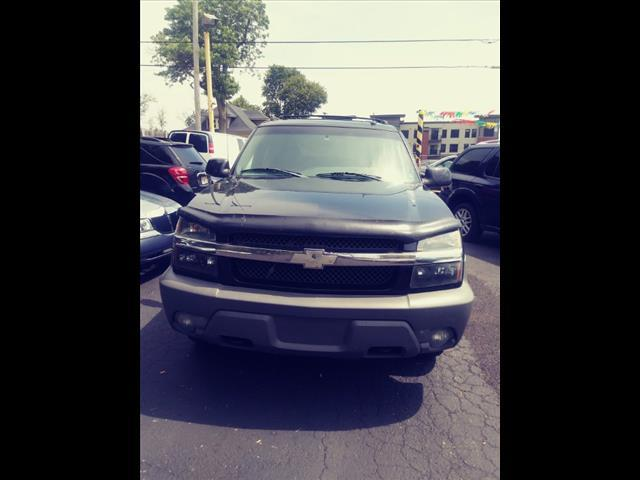 2002 Chevrolet Avalanche for sale at Tyme Auto Sales in Plymouth MI