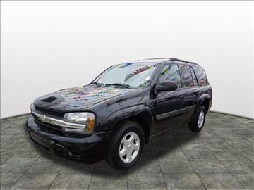 2003 Chevrolet TrailBlazer for sale at Tyme Auto Sales in Plymouth MI