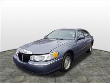 2000 Lincoln Town Car for sale at Tyme Auto Sales in Plymouth MI
