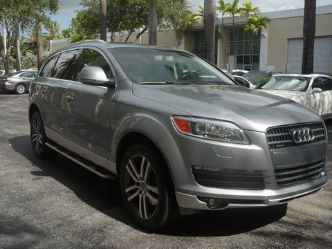 2009 Audi Q7 for sale in Doral, FL