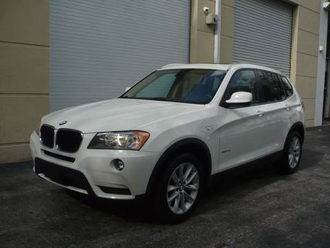 2013 BMW X3 for sale in Doral, FL