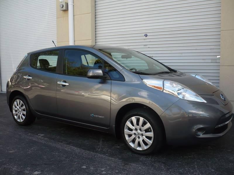 2014 Nissan Leaf S 4dr Hatchback In Miami Fl Jex Auto Sale