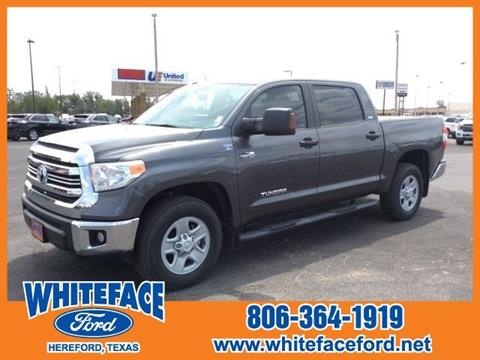 2016 Toyota Tundra for sale in Hereford, TX