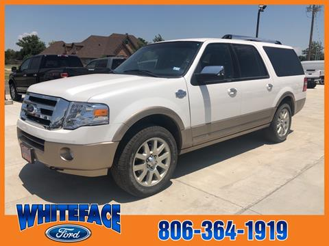 2014 Ford Expedition EL for sale in Hereford, TX