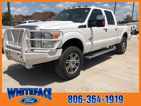 2014 Ford F-250 Super Duty for sale in Hereford, TX