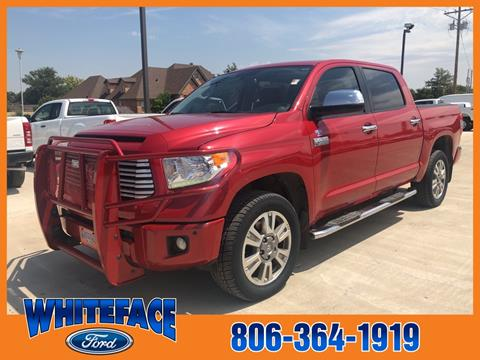 2014 Toyota Tundra for sale in Hereford, TX