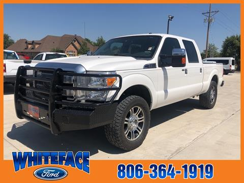 2015 Ford F-250 Super Duty for sale in Hereford, TX