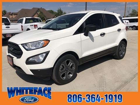 2018 Ford EcoSport for sale in Hereford, TX