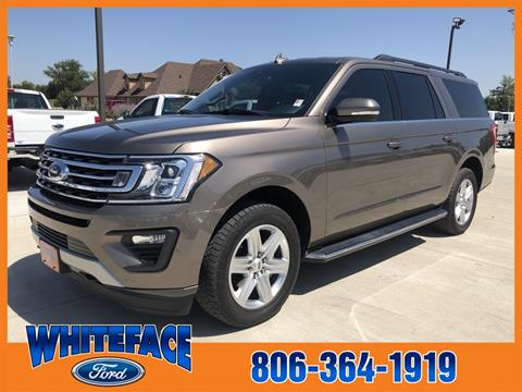 2018 Ford Expedition MAX for sale in Hereford, TX