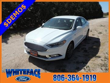 2017 Ford Fusion for sale in Hereford, TX