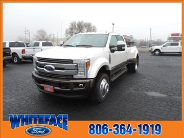 2017 Ford F-450 Super Duty for sale in Hereford, TX