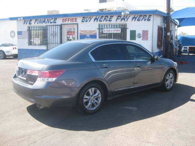2011 Honda Accord Se 4dr Sedan In Mesa Az Town And