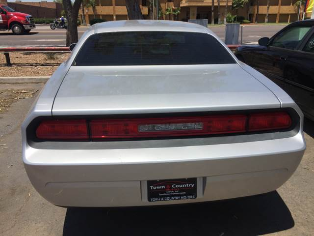 2009 Dodge Challenger Se 2dr Coupe In Mesa Az Town And