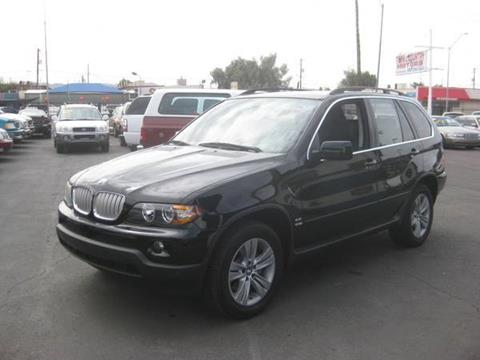 2005 Bmw X5 AWD 4.4i 4dr SUV In Mesa AZ - Town and Country ...