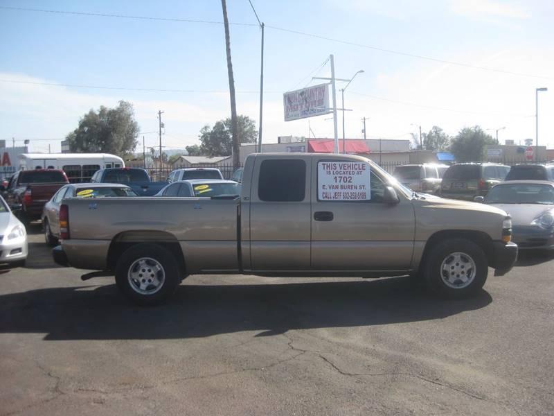 2000 Chevrolet Silverado 1500 for sale at Town and Country Motors - 1702 East Van Buren Street in Phoenix AZ