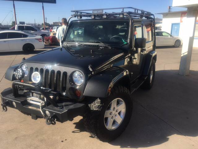 2010 Jeep Wrangler for sale at Town and Country Motors in Mesa AZ
