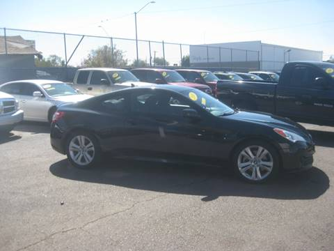 2010 Hyundai Genesis Coupe for sale at Town and Country Motors - 1702 East Van Buren Street in Phoenix AZ
