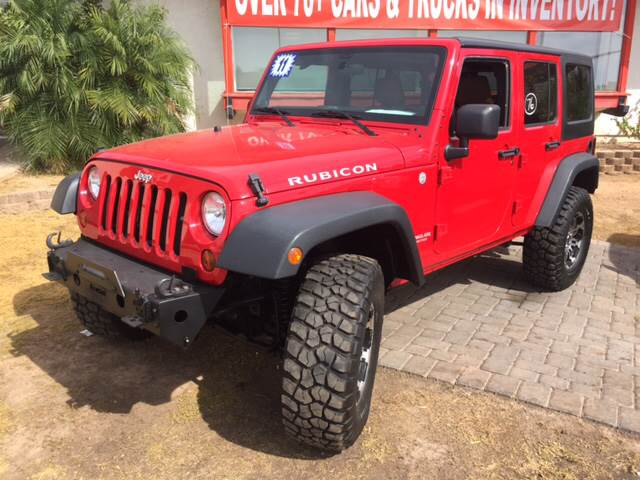 2011 Jeep Wrangler Unlimited 4x4 Rubicon 4dr Suv In Mesa