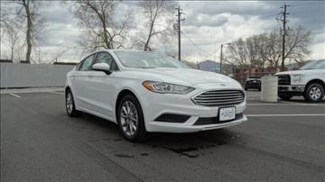 2017 Ford Fusion for sale in Salt Lake City, UT