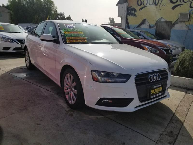 2013 Audi A4 For Sale At South City Cars In Los Angeles CA