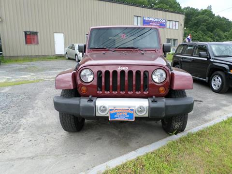 2009 Jeep Wrangler Unlimited for sale in Windham, NH