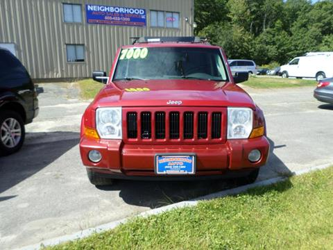 2006 Jeep Commander for sale in Windham, NH