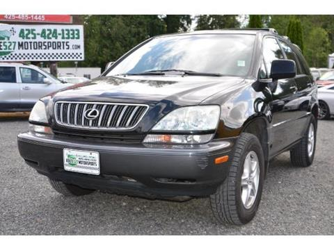 2002 Lexus RX 300 for sale in Bothell, WA