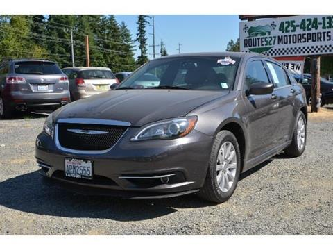 2014 Chrysler 200 for sale in Bothell, WA