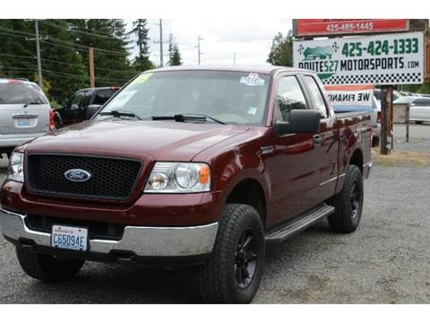 2005 Ford F-150 for sale in Bothell, WA