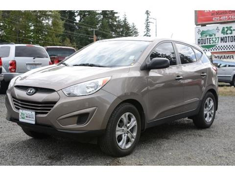 2010 Hyundai Tucson for sale in Bothell, WA