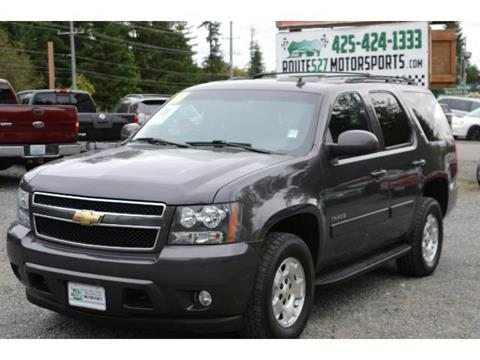 2010 Chevrolet Tahoe for sale in Bothell, WA