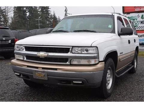 2000 Chevrolet Tahoe For Sale In Bothell WA