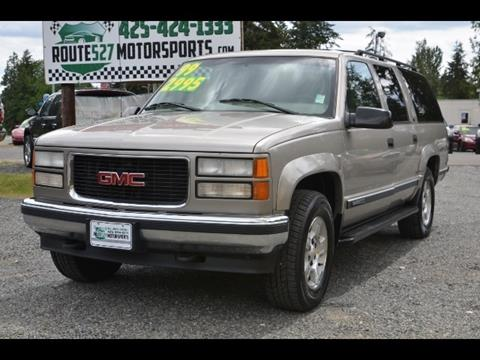 1999 GMC Suburban for sale in Bothell, WA