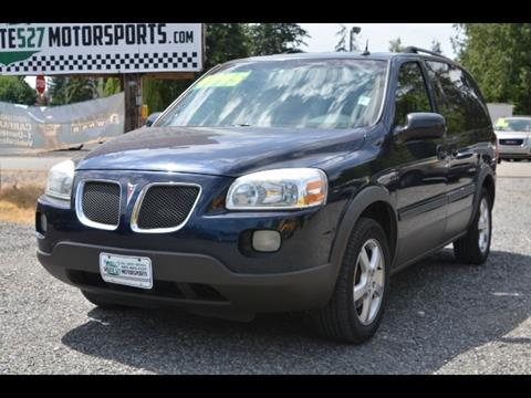 2005 Pontiac Montana for sale in Bothell, WA