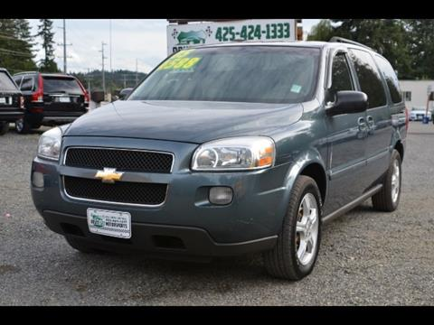 2005 Chevrolet Uplander for sale in Bothell, WA