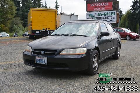 1998 Honda Accord For Sale >> 1998 Honda Accord For Sale In Bothell Wa