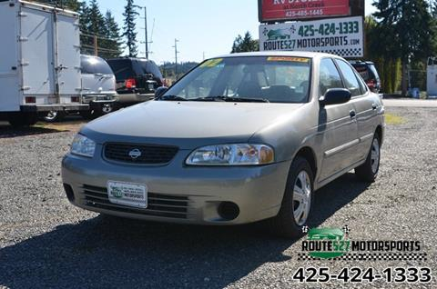 2002 Nissan Sentra for sale in Bothell, WA
